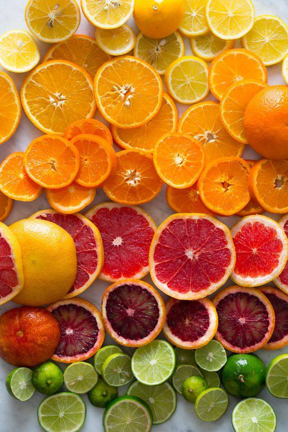 beauty tips with oranges
