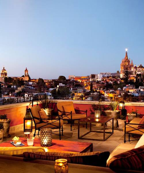 best rooftop restaurants in the world luna rooftop tapas bar hotel rosewood san miguel mexico