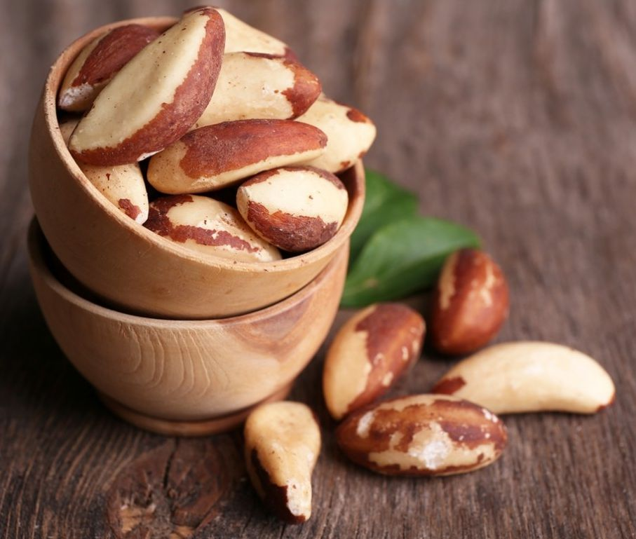 brazil nuts for great skin healthy tip #healthy living #skin care #beauty #trendypins