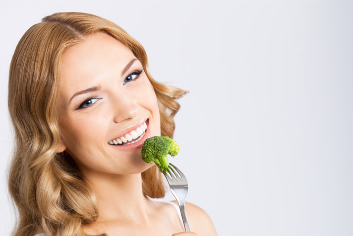 brocolli for white teeth