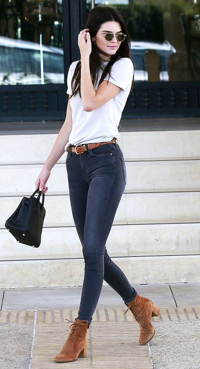 casual kendall jenner outfit