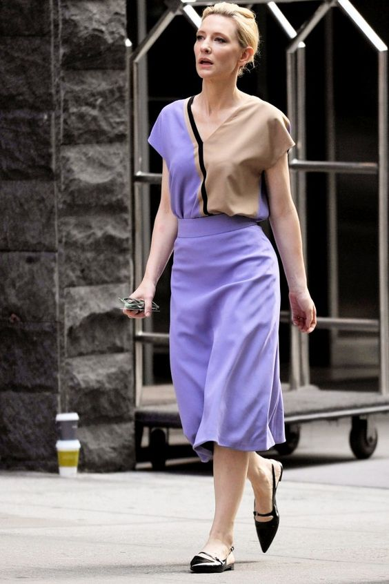 cate blanchett street outfit style