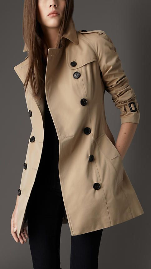 classic trench style essential