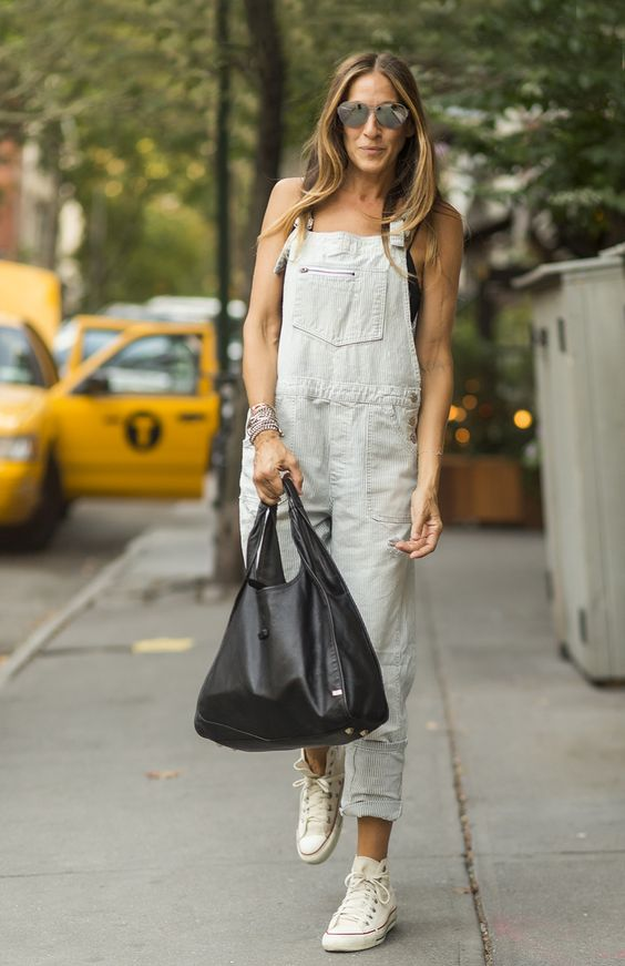 cute sarah jessica parker casual style
