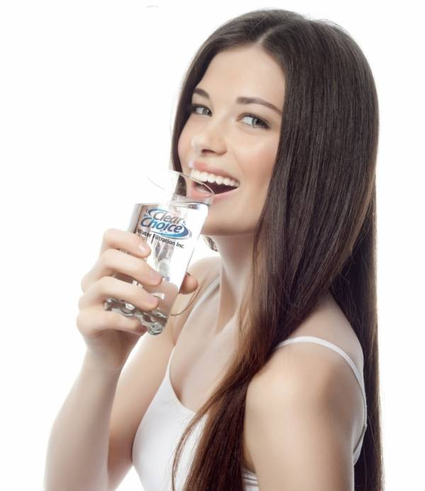 drink water for white teeth