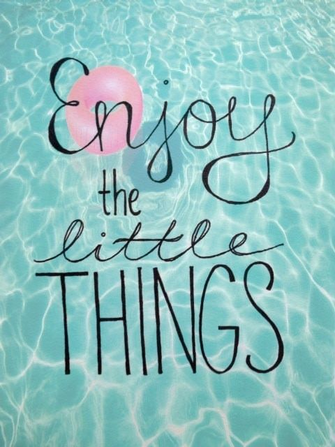 enjoy the little things life wisdom quotes