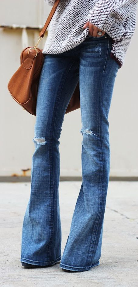 flared jeans style essential