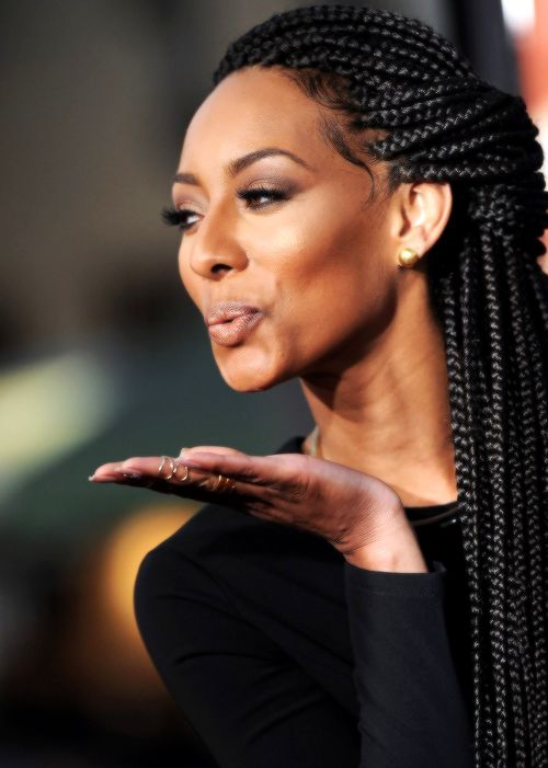 great looking box braids hairstyle