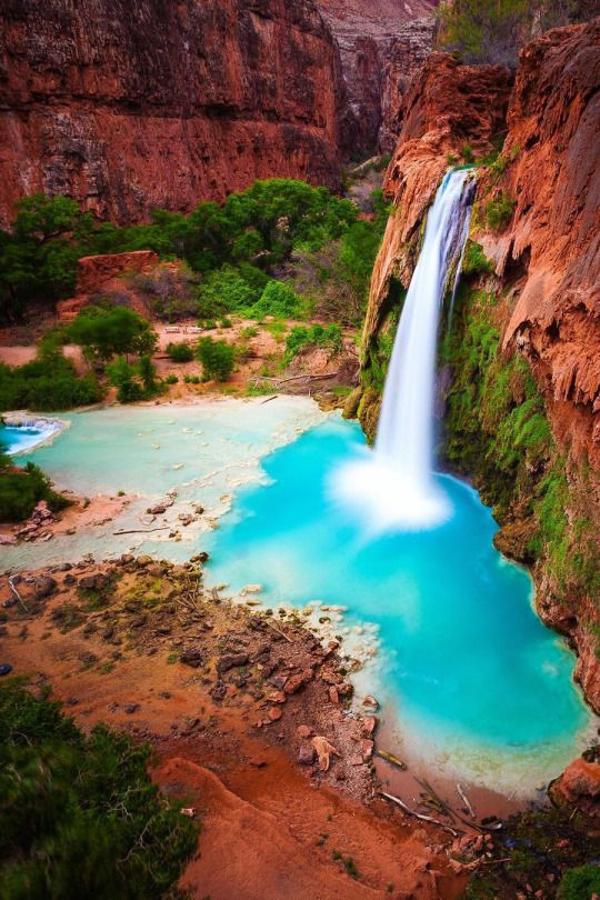 havasu falls arizona one of the most beautiful places in the world