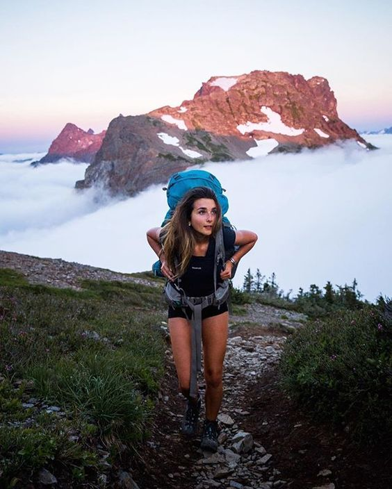 hiking morning routine for healthy life