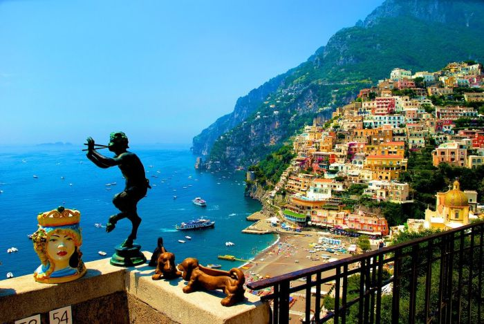 italy amalfi coast one of the most beautiful places in the world