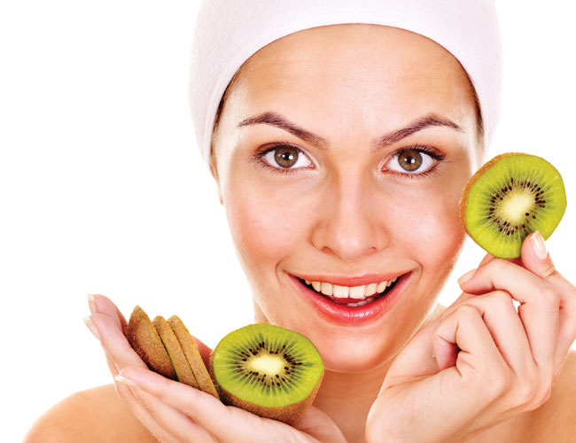 kiwi beauty skin food