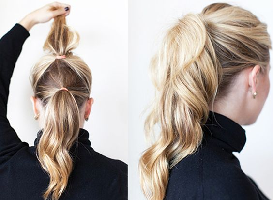 make a fuller ponytail best hairstyle tip