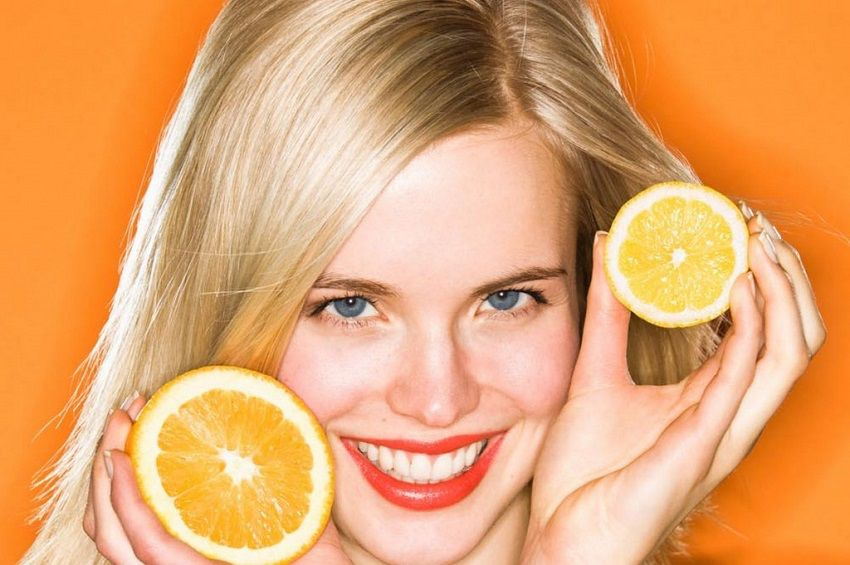 oranges for white teeth trick