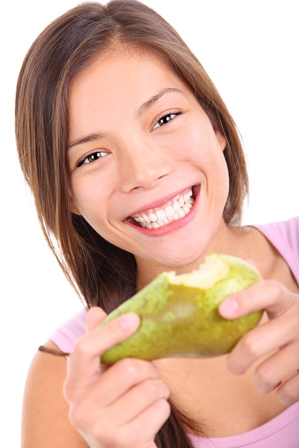 pears for white teeth