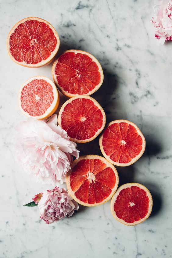 pink grapefruit great skin beauty hacks #healthy living #skin care #beauty #trendypins