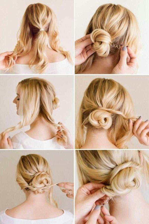 quick and easy spin pins for best hairstyle tip