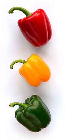red bell peppers great skin beauty tips #healthy living #skin care #beauty #trendypins
