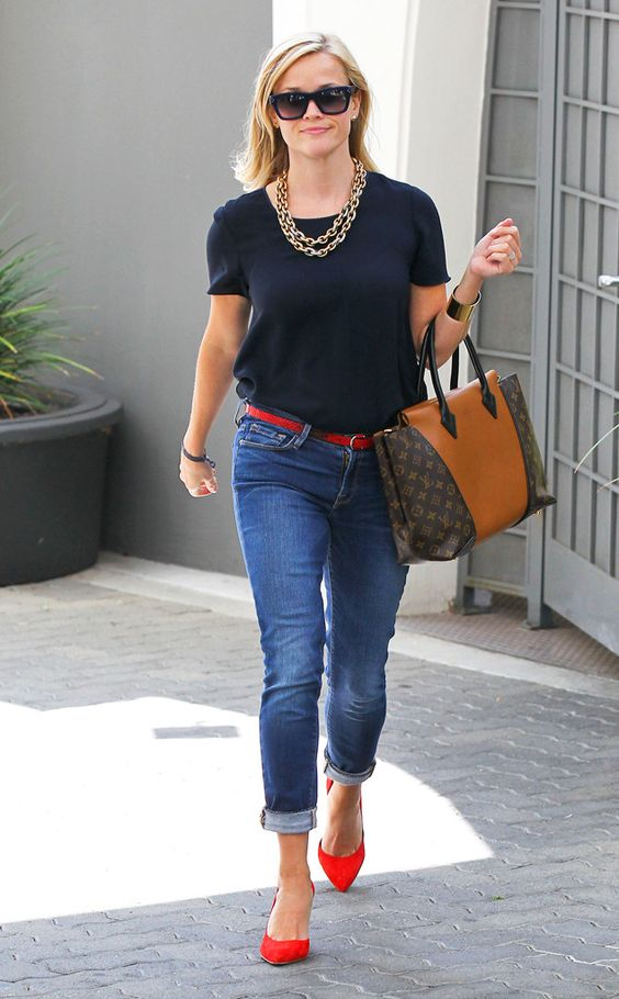 reese witherspoon casual style