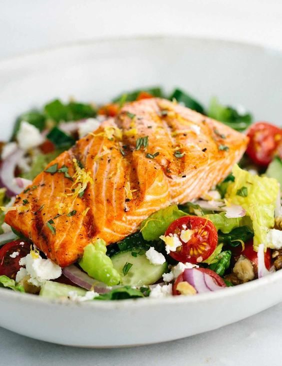 salmon beauty skin benefits