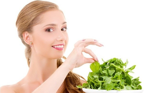 spinach for glowing skin
