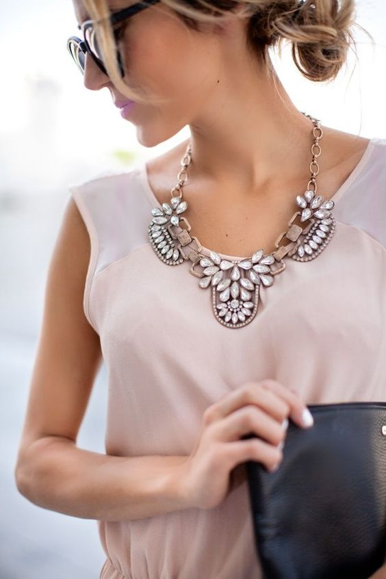statement necklace style essential