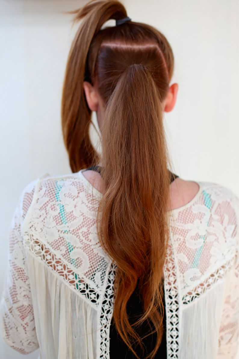 super long pony tail best hair tip