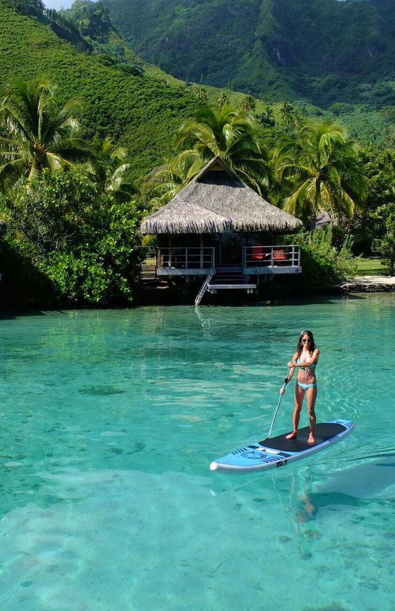 tahitian over water bungalow top 10 trips of a lifetime