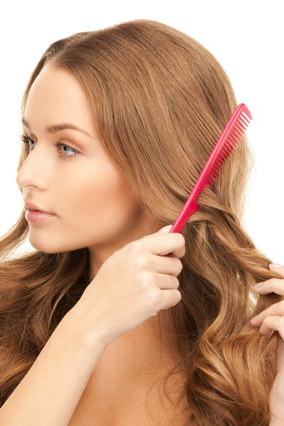 use wide tooth comb best hair tip