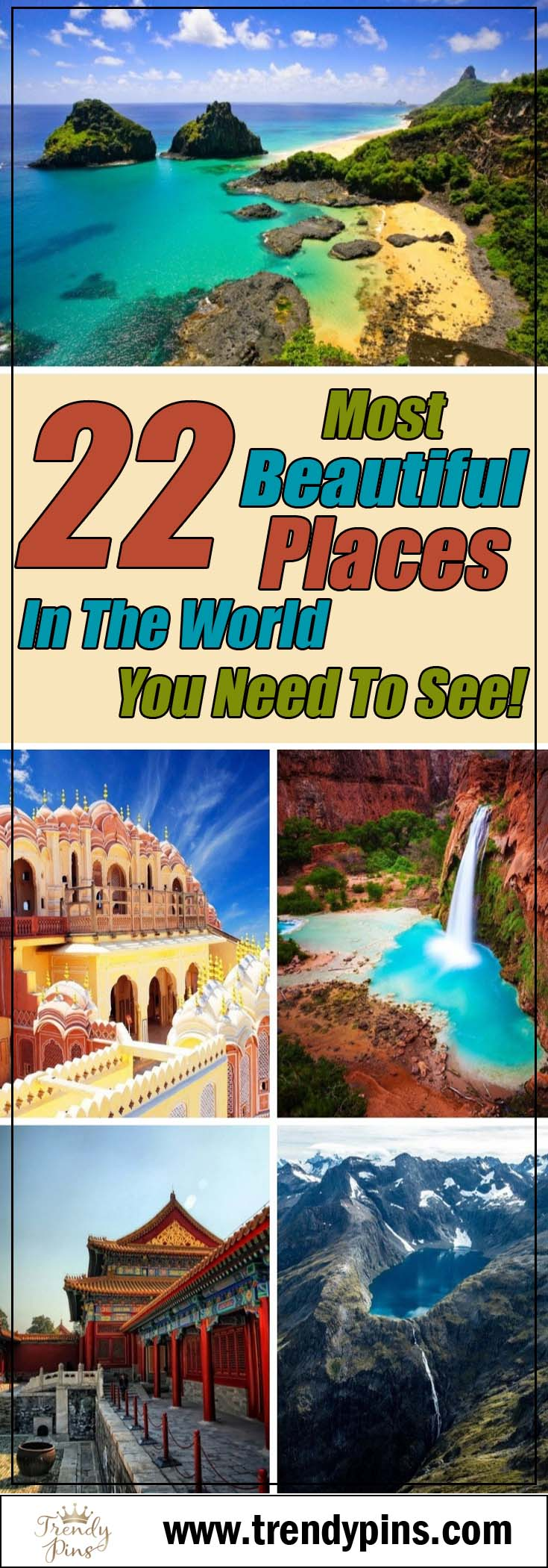 22 most beautiful places in the world you need to see!