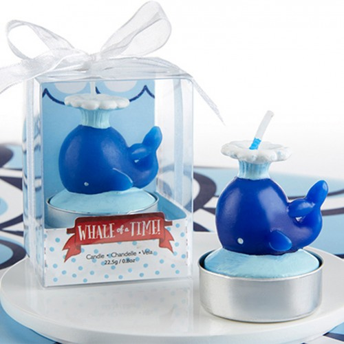 Nautical Whale Candles