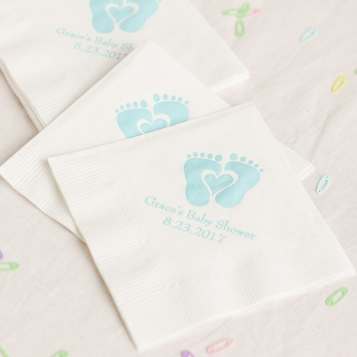 Personalized Baby Napkins