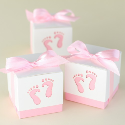 Baby Feet Boxes for girls