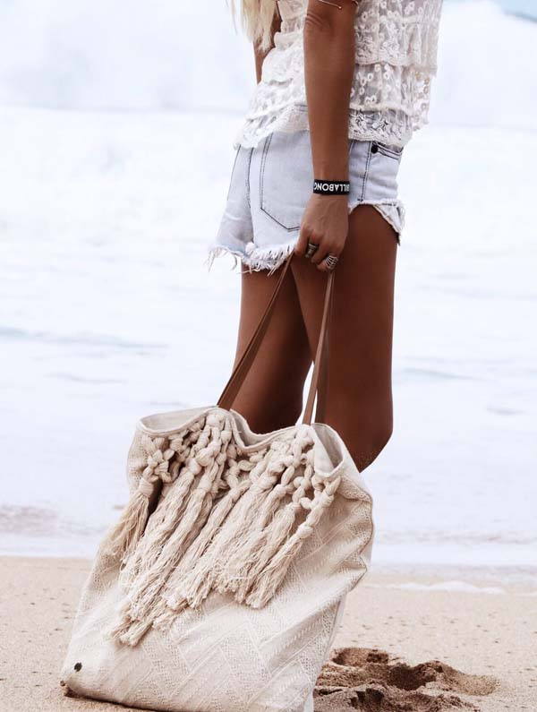 Beach bag #purses #fashion #trendypins