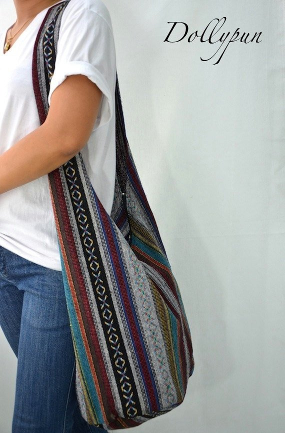 Hobo bag striped #purses #fashion #trendypins