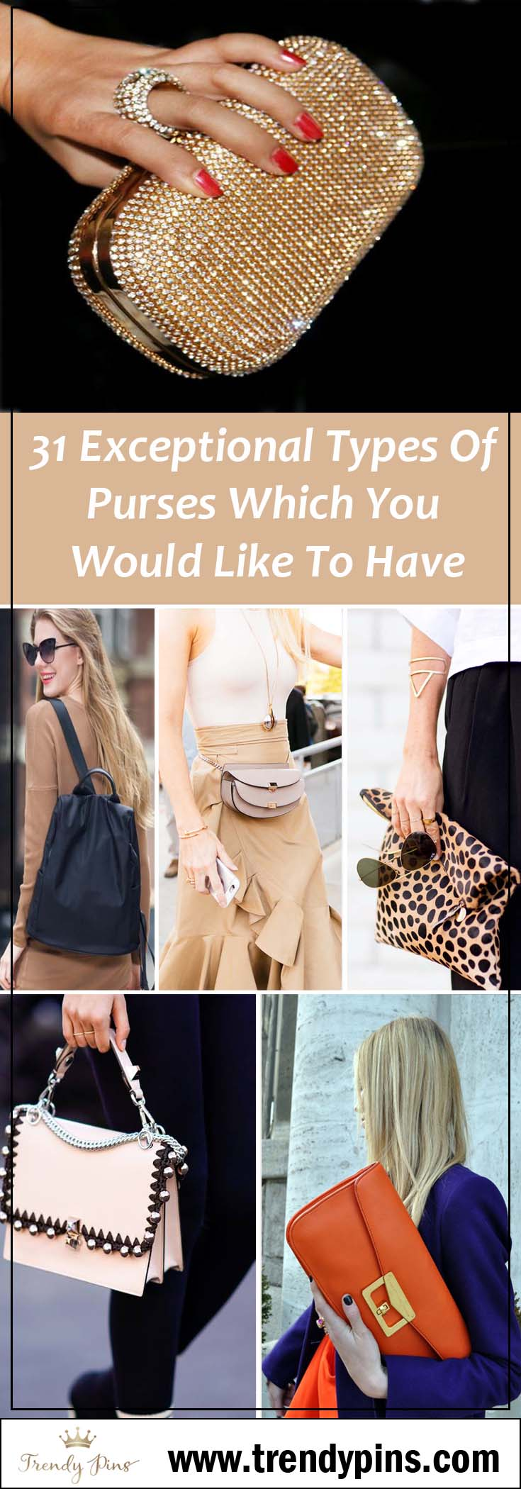 31 Types of purses #purses #fashion #trendypins