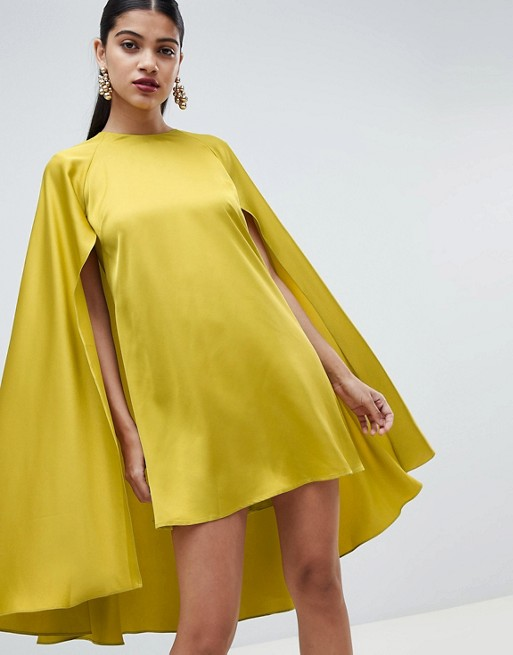 Cape dress #dresses #fashion #trendypins