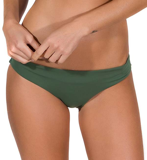 Classic Brief Low profile solid color swim bottom with a perfect stretch fit. Made of nylon and spandex. Narrow covered elastic waistband. #Classic Brief #panties #fashion #trendypins
