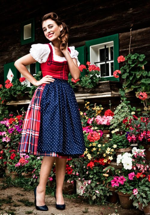Dirndl skirt #skirt #fashion #trendypins