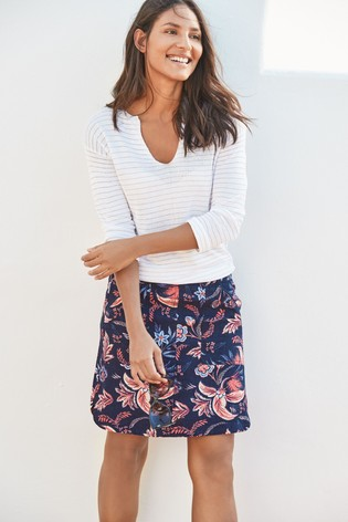 Linen Blend Skirt #skirt #fashion #trendypins
