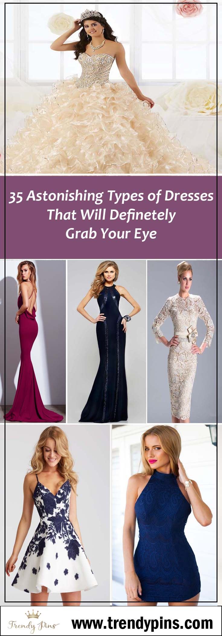 35 Types of dresses