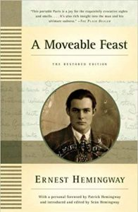A Moveable Feast by Ernest Hemingway (1964)