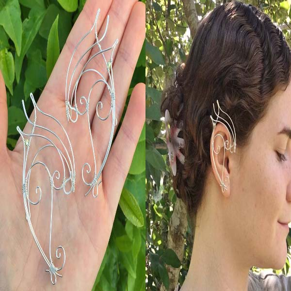 Elven Ear Cuffs #ear cuffs #earrings #fashion #trendypins