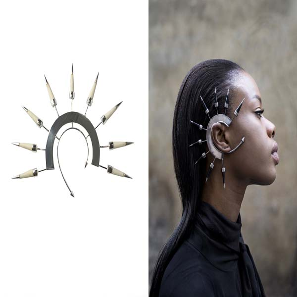 TALON SPIKE EAR CUFFS #ear spikes #earrings #fashion #trendypins