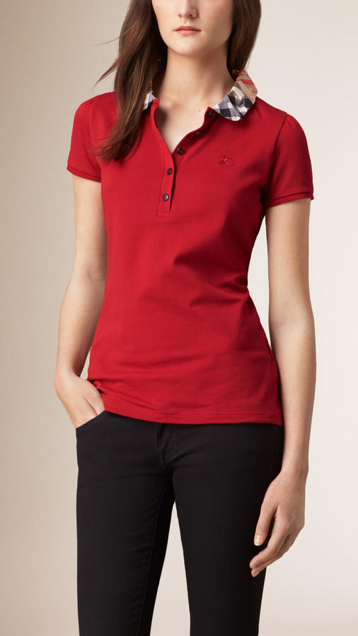 Check Collar Polo Shirt #polo shirt #shirts #fashion #trendypins