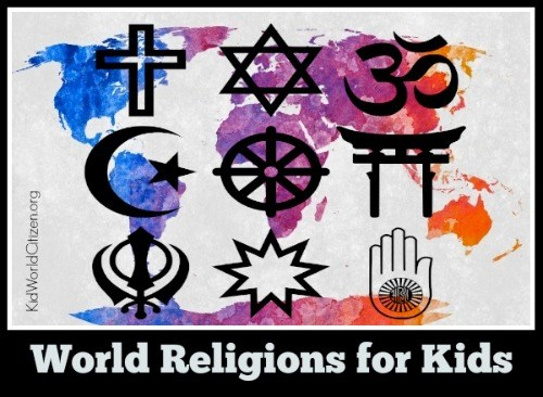 BOOKS ABOUT SPECIFIC WORLD RELIGIONS FOR KIDS