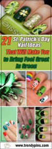 21 St. Patrick's Day nail ideas that will make you feel great in green