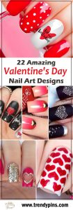 22 Amazing Valentine's Day Nail Art Designs