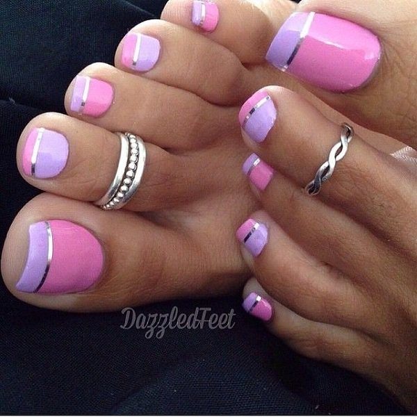 French Manicure Toes #french manicure #nails #beauty #trendypins