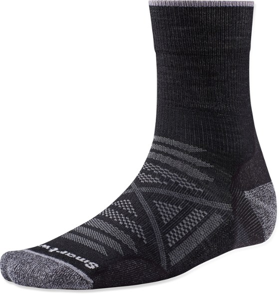 Smartwool PhD Outdoor Light Mid Crew Socks - Men's #mid crew socks #socks #fashion #trendypins
